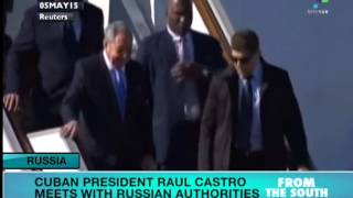 Raul Castro in Russia for Top Level Meetings