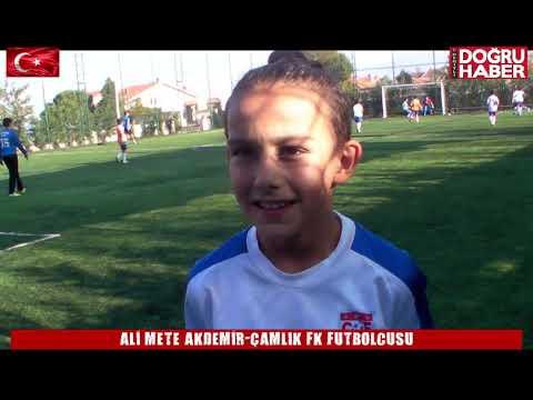ALİ METE AKDEMİR ÇAMLIK FK FUTBOLCUSU 10 KASIM 2019