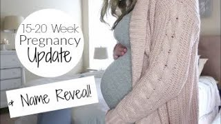 Video Pregnancy Update Weeks 15-20   Baby Name REVEAL!! download MP3, 3GP, MP4, WEBM, AVI, FLV November 2017