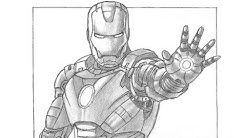 Special Iron Man Drawing! Thanks for 10,000 subs :)