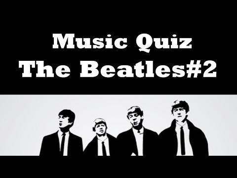 Music Quiz - THE BEATLES #2