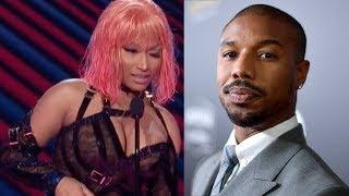 Nicki Minaj SHOOTS HER SHOT At Michael B Jordan As Tekashi69 REIGNITES Cardi B Feud!