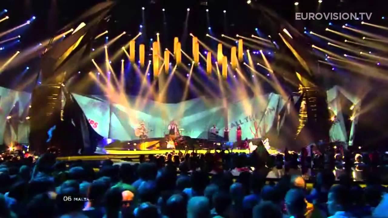 Gianluca - Tomorrow (Malta) - LIVE - 2013 Semi-Final (2)