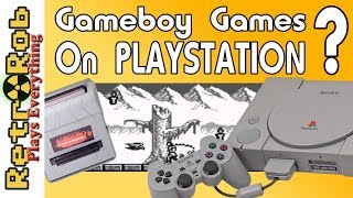 Play Gameboy Games on Playstation With Super GB Booster