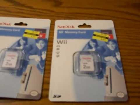 Kmart wii and dsi sandisk 2gb sd card deal.