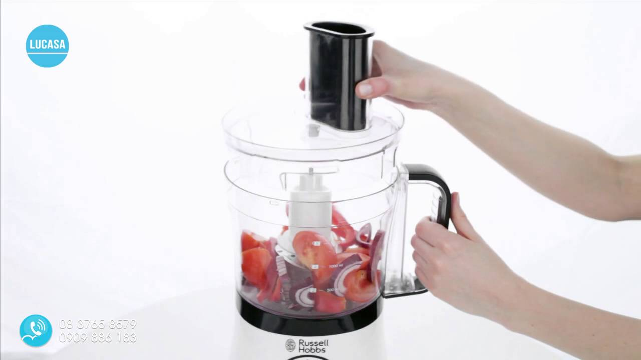 russell hobbs aura food processor 19005 56 youtube. Black Bedroom Furniture Sets. Home Design Ideas