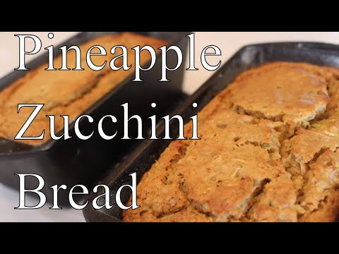 Pineapple Zucchini Bread With Linda's Pantry