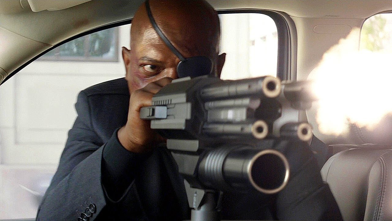 "Nick Fury ""Want To See My Lease?""- Captain America: The Winter ..."