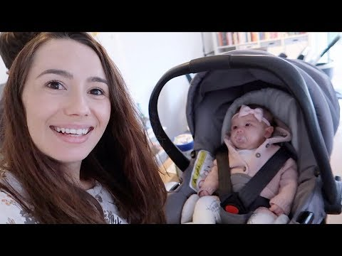 FOMOS ÀS COMPRAS COM A BEBÊ OLIVIA | vlog em família | Joyce Aurora 🤱🏻💗