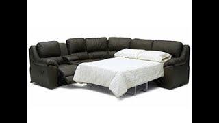 Leather Sofa Sleeper Sectional