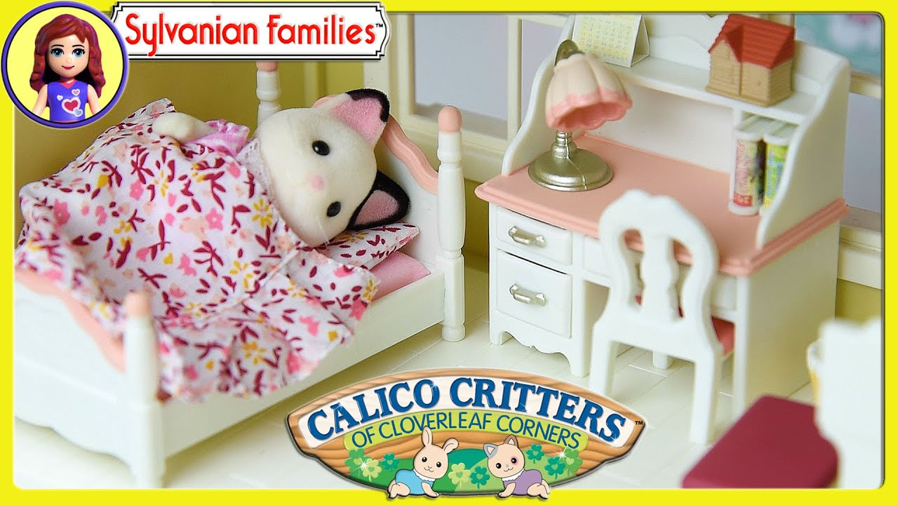 Luxury Calico Critters Bedroom Set Set