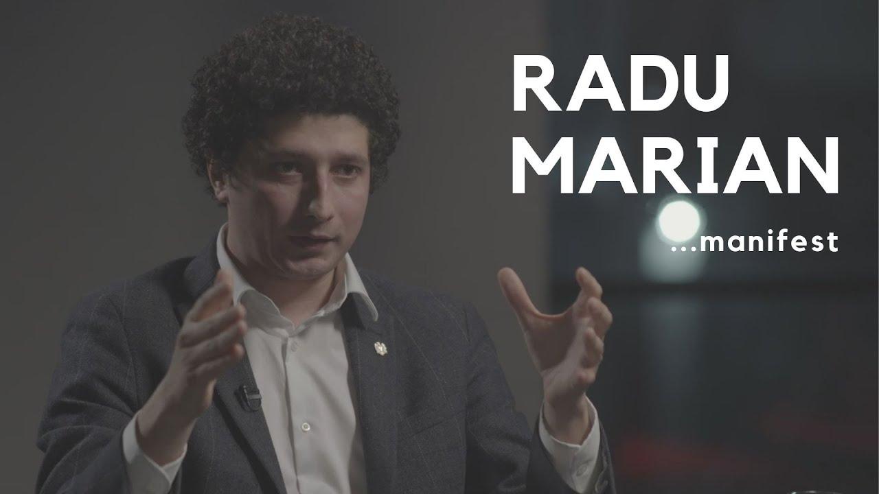 RADU MARIAN: #manifestUL UNUI POLITICIAN TÂNĂR