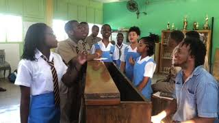 School Girl Sing Mind Your Business , Really Funny