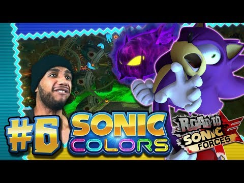 Sonic Colors 4K 60FPS (100%) - Part 6 - Asteroid Coaster *THE ROAD TO SONIC FORCES*