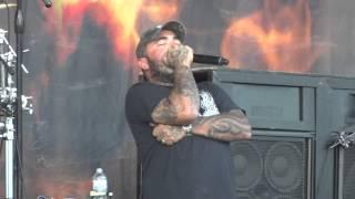 Staind - Mudshovel - Live @ UPROAR FESTIVAL KC 8/17/2012