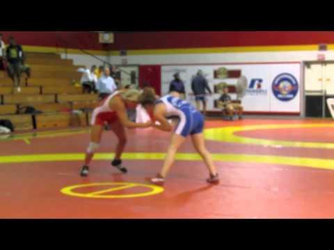 2012 FISU Trials: 55 kg Liz Sera vs. Sam Stewart