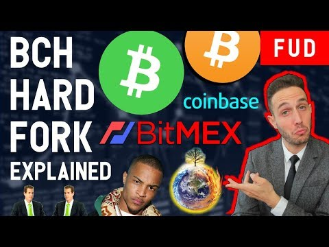 BITCOIN CASH HARD FORK? BTC = CLIMATE CHANGE? TI ICO SCAM! Winklevoss BitMex Coinbase ETF FUD