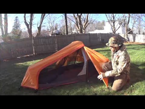 Alps Mountaineering Mystique 1.5 Tent Review & Alps Mountaineering Mystique 1.5 Tent Review - YouTube