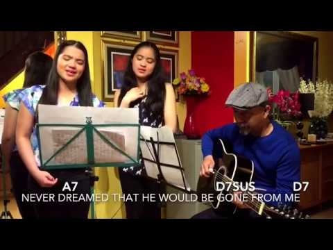 LUTHER VANDROSS-DANCE WITH MY FATHER WITH LYRICS AND CHORDS COVER BY ...