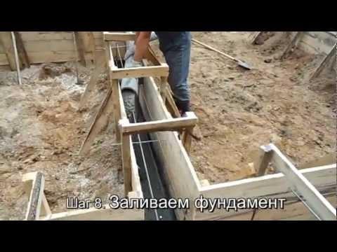 Фундамент, виды фундаментов - Виды фундаментов в деревянном домостроении - 0