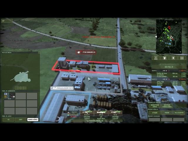 Ofensiva con Baltic Front  | 3vs3 | Wargame Red Dragon | #44