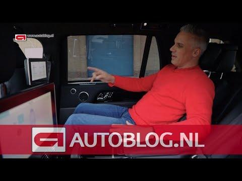 Zo luxe zit je achterin een Range Rover SDV8 LWB