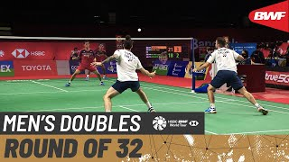 TOYOTA Thailand Open | Day 2: Lane/Vendy (ENG) vs. Alfian/Ardianto (INA) [5]