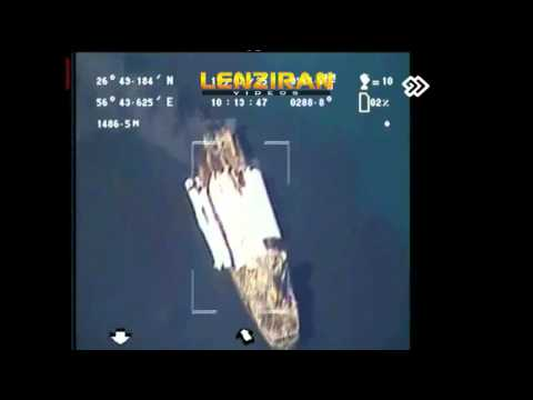 IRGC commander & Unpublished pictures of hitting US warship in TV program Negah 2