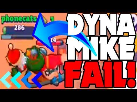 MAX Dynamike JUMP FAIL! - Brawl Stars  