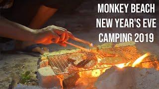 Travel Vlog: Monkey Beach New Year's Eve Camping 2019