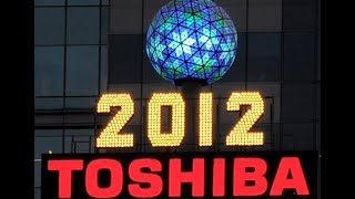 2011-2012 Times Square Ball Drop, New York City (Clean)