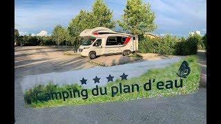 Mit dem Wohnmobil durch Frankreich I Camping du plan d´eau