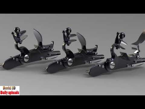 272. Flintlock mechanism 3 positions || Free download 3D models