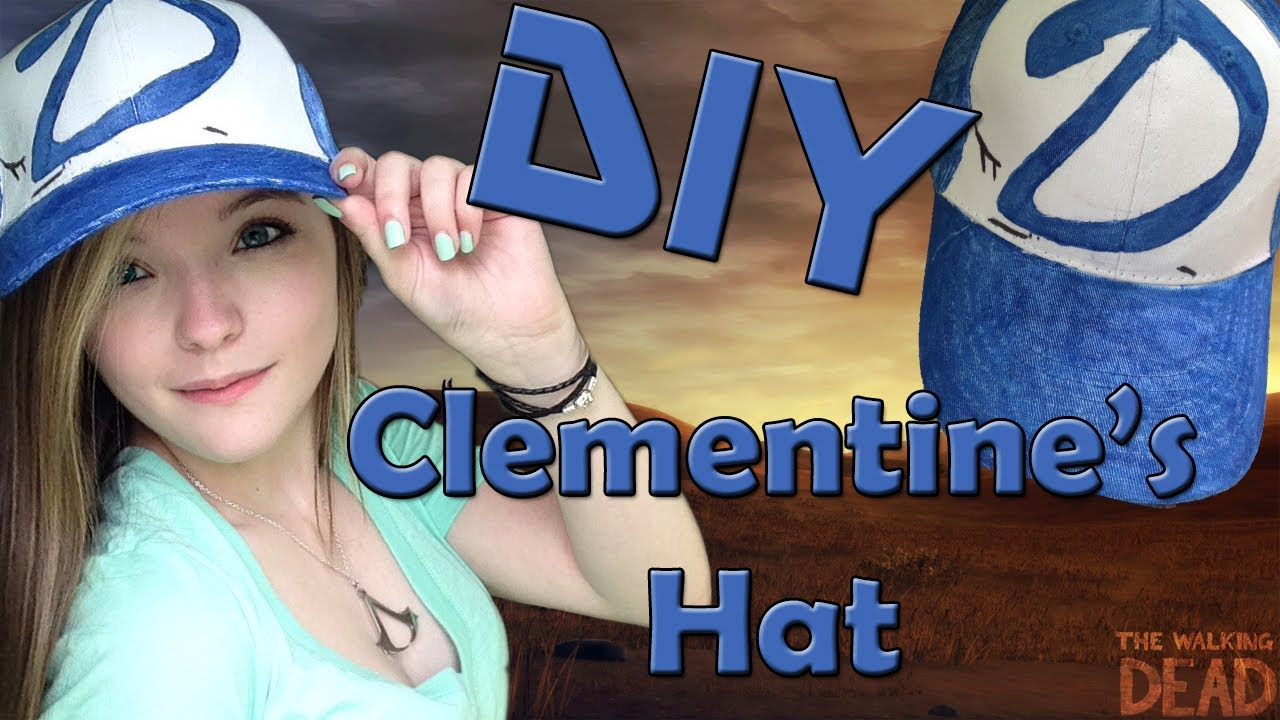 87b9c95ddf9 DIY  Clementine s Hat-The Walking Dead Game - YouTube