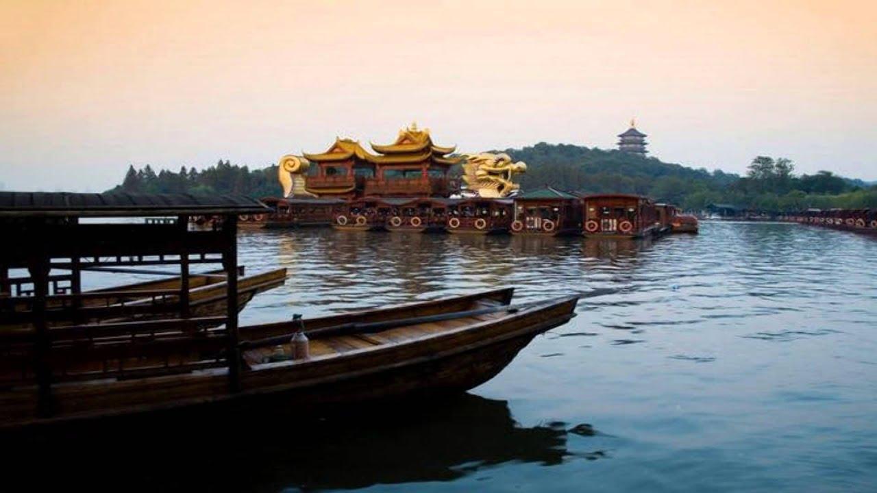Hangzhou West Lake Scenery - China  Hd1080p