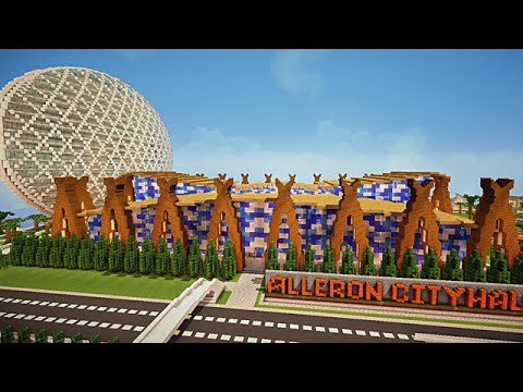 Minecraft visite de ville moderne youtube - Ville moderne minecraft ...