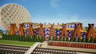 Minecraft visite de ville moderne !