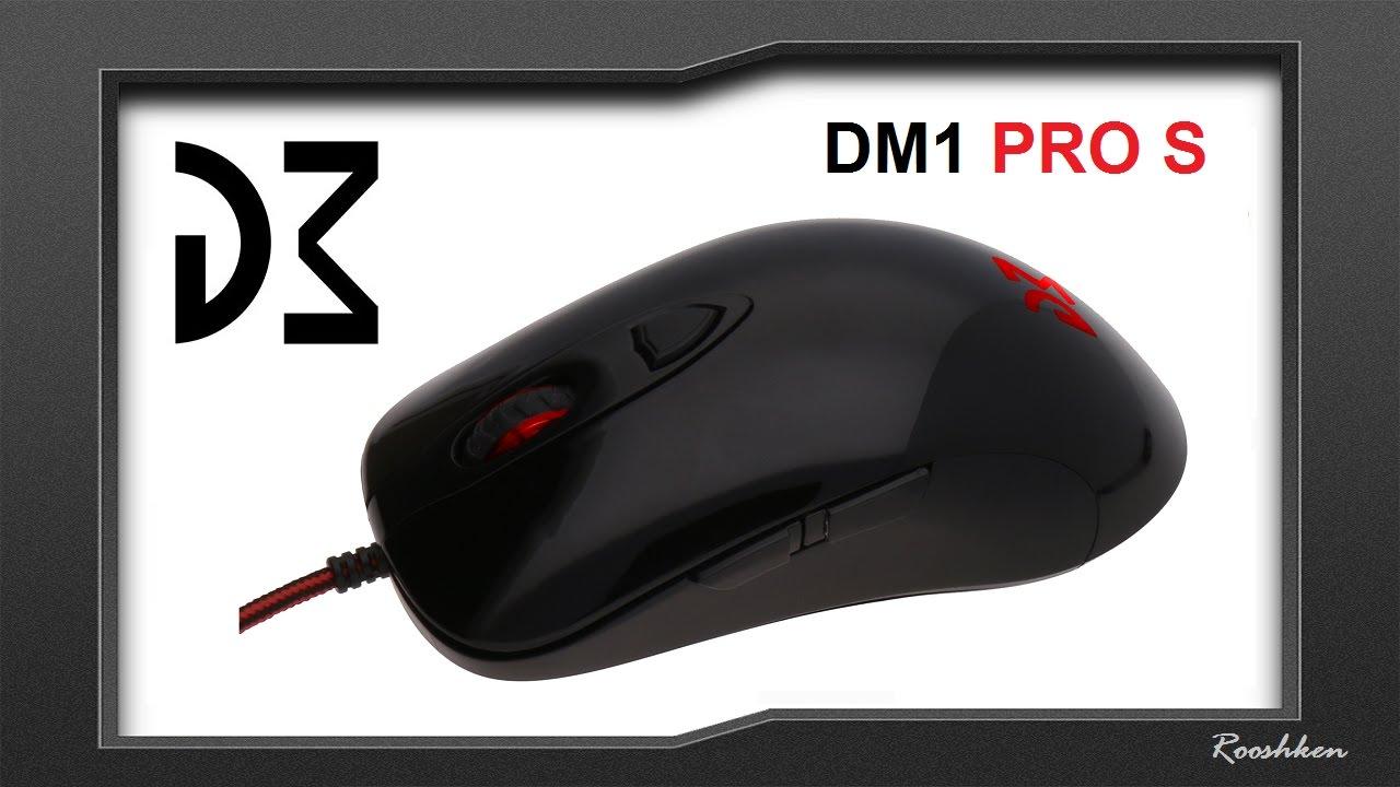 Dream Machines DM1 Pro S - Test myszki z sensorem optycznym Pixart 3360
