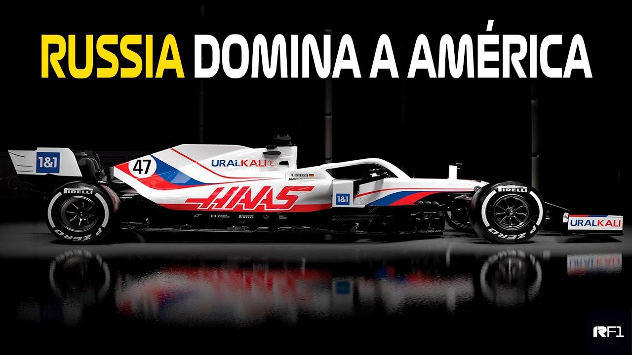 HAAS VF21 - RUSSIA TOMOU CONTA DOS AMERICANOS