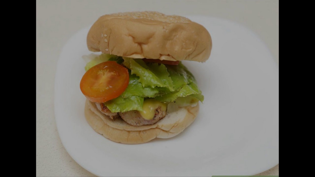 How To Make Chicken Zinger Burger At Home