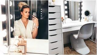 Mein Schminktisch und dessen Inhalt / Ikea Hollywood Mirror