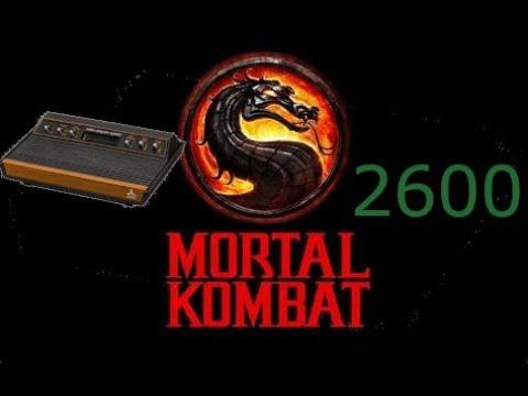 Mortal Kombat Atari 2600 Work in Progress