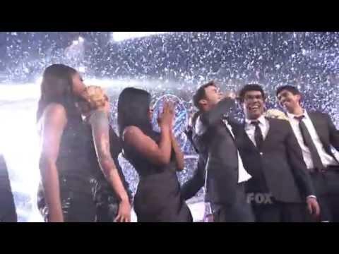 Kris Allen American Idol 8 2009 Winning Moment HQ