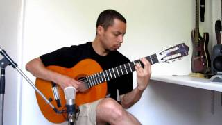 Romance de Amor on Nylon String Guitar