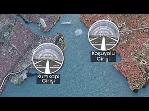 Avrasya Tüneli ( Eurasia Tunnel ) İLK GEÇİŞ