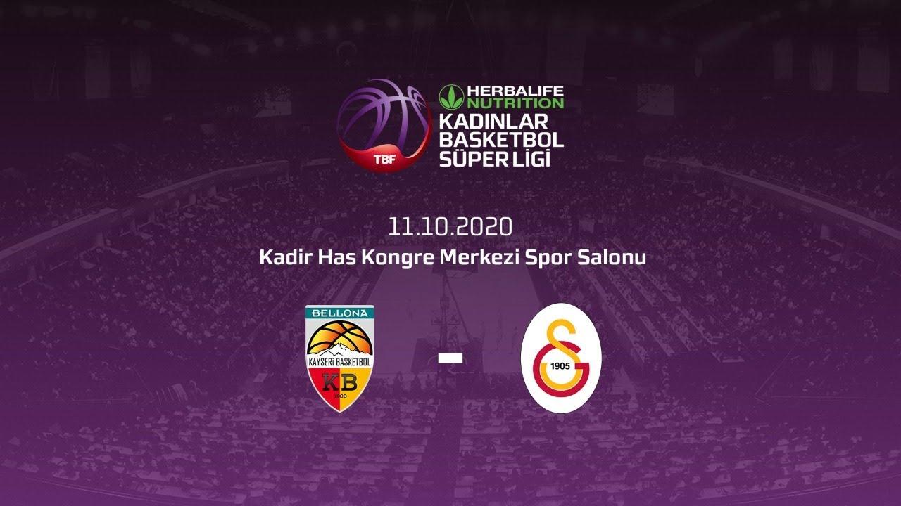 Bellona Kayseri Basketbol – Galatasaray Herbalife Nutrition KBSL 3.Hafta