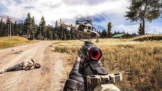 Far Cry 5 - Stealth Kills And Fails 4k/60Fps #1