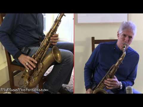 Bob Mintzer - Saxophone Masterclass 1