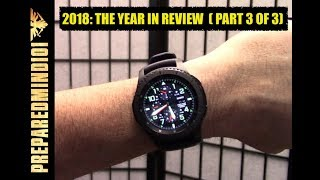 2018 The Year In Review Part 3 of 3 Preparedmind101