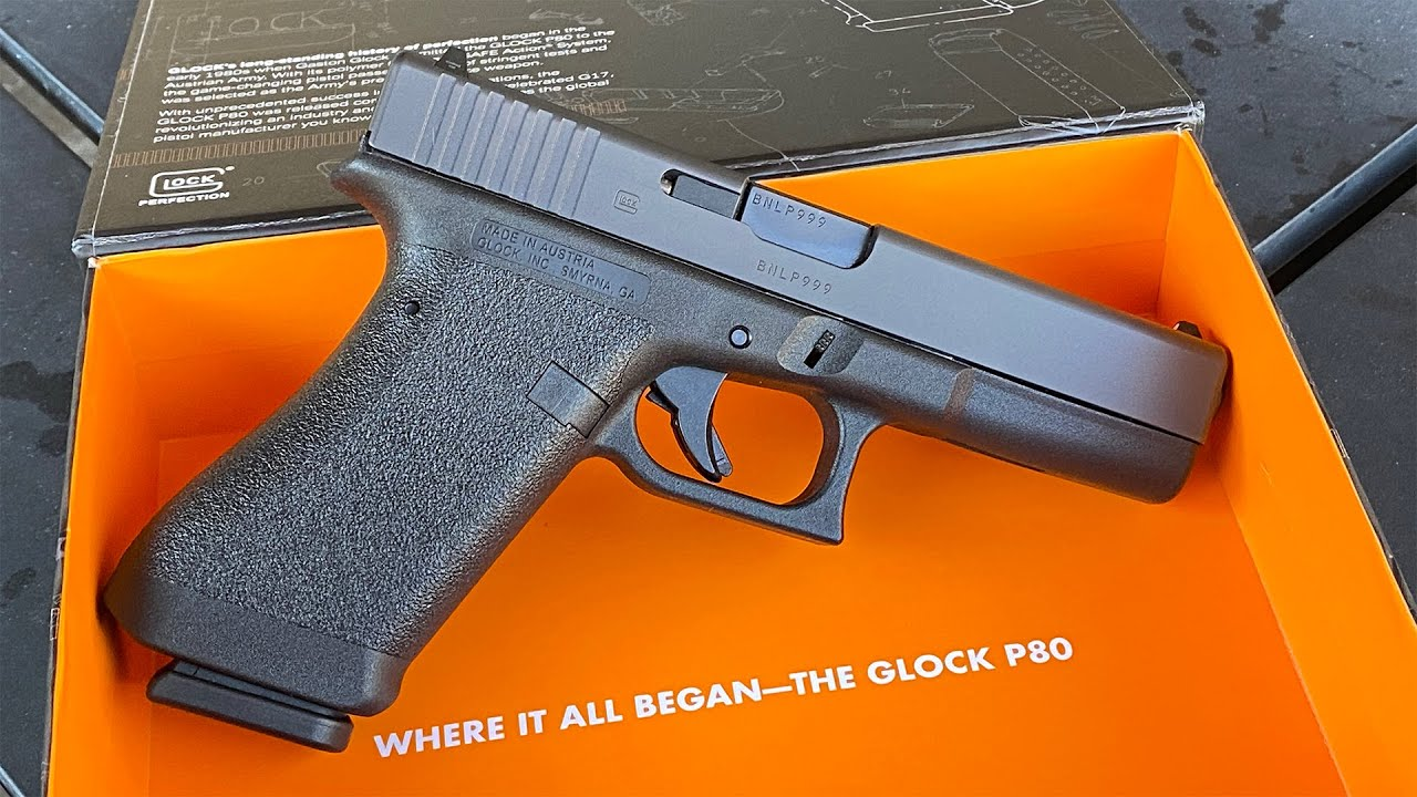 Glock P80 - Where It All Began